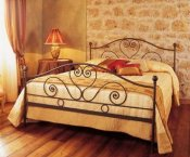 Wrought iron bed SN908