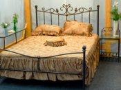 Wrought iron bed SN906