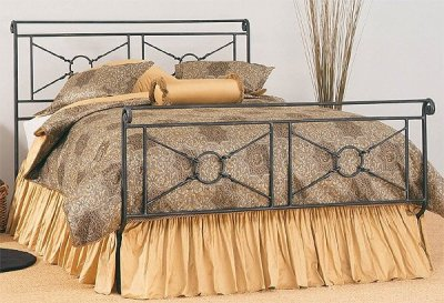 Wrought iron bed SN911
